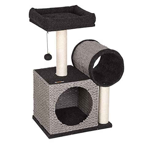 Amazon.com: FEANDREA UPCT20GB Árbol para gatos, torre de ...