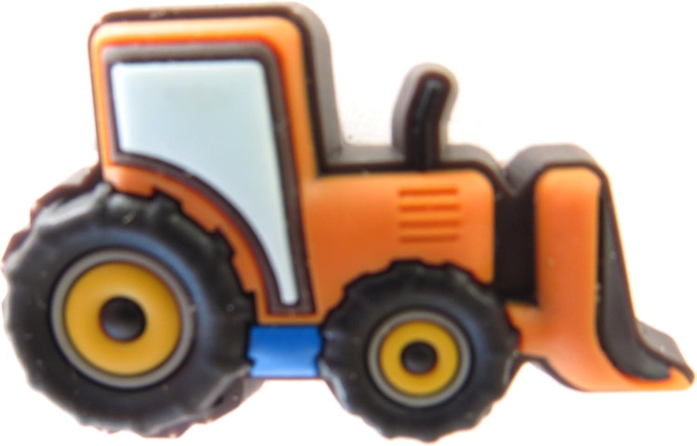 Jibbitz Bull Dozer tractor by Crocs