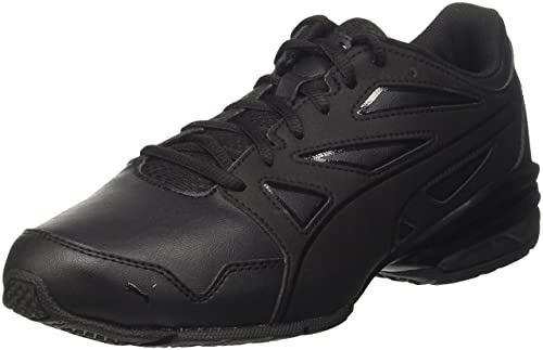 4852ed3810ab7f Puma Men s Tazon Modern Fracture Black Running Shoes - 10 UK India (44.5 EU