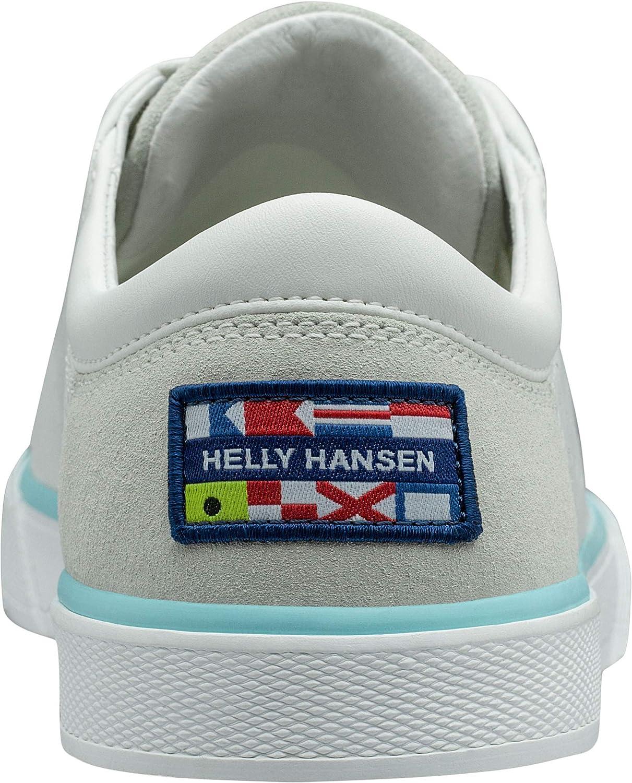 Helly Hansen W Copenhagen Leather, Baskets Femme Blanc Off White Blue Tint 011