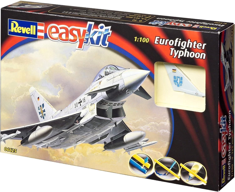 Revell - Maqueta EasyKit Eurofighter Typhoon, Escala 1:100 (06625): Amazon.es: Juguetes y juegos