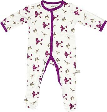 Kyte beb/é Footies/-/beb/é Footed Pajamas Hecho de Suave Material de bamb/ú org/ánico/-/0/-/24/Meses/-/s/ólido Colores