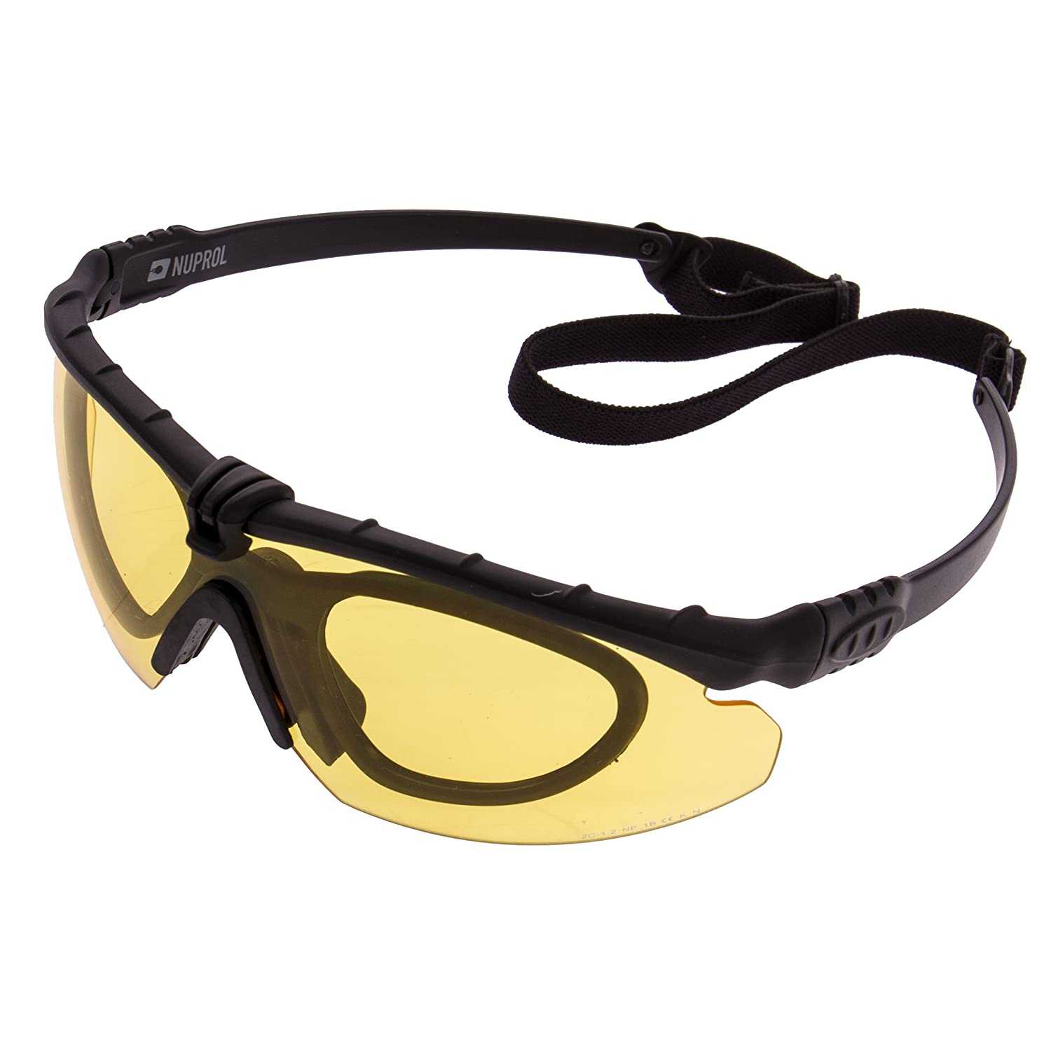 Yellow Lens Airsoft Army Eye Protection Goggles Bolle Tracker Safety Glasses