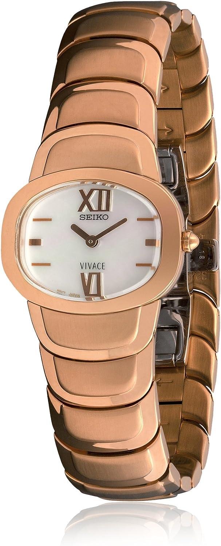 Seiko 70117 - Reloj de Señora Movimiento de Cuarzo con Brazalete metálico