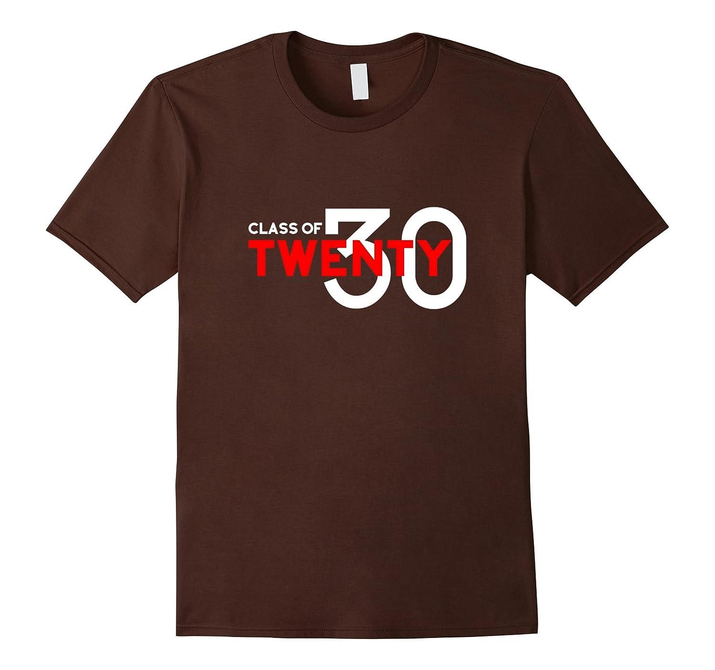 Class of 2030 Grow with Me Shirt, Kindergarten Graduation-CL