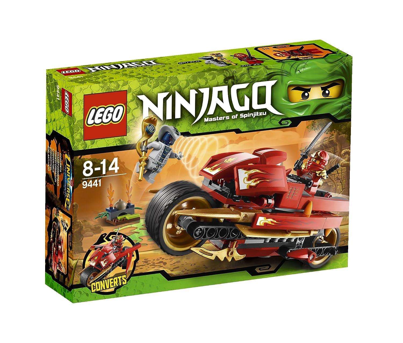 LEGO Ninjago 9441 - La Moto Acuchilladora de Kai