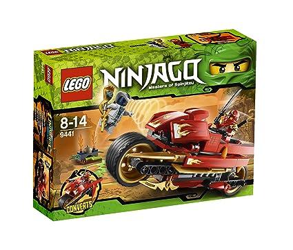 Amazon Lego Ninjago Kais Blade Cycle 9441 Toys Games