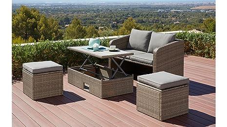 Baumarkt mobili da giardino set lagos divano tavolo e