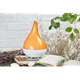 Ultransmit Aroma VIVI Ultrasonic Aromatherapy Essential Oil Diffuser, High Capacity Diffuser with Auto Shut- Off (Orange)
