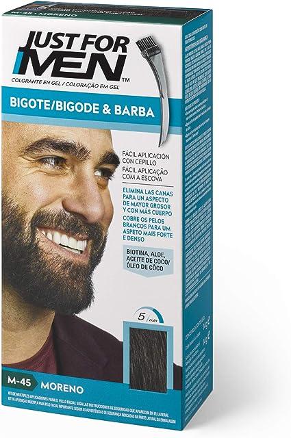 Just For Men Just For Men Tinte Colorante En Gel Para Barba Y Bigote - Moreno (Formula Mejorada) M-45