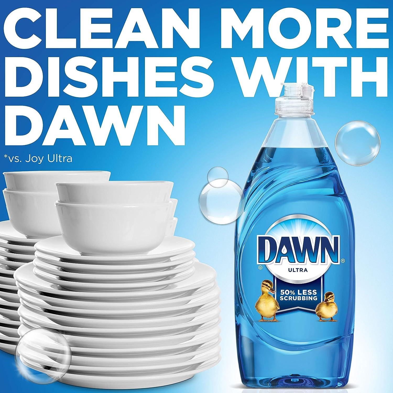 Dawn Ultra Dishwashing Liquid Dish Soap, Original Scent, 2 count, 56  oz (Packaging May Vary)
