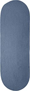 product image for Spring Meadow Rug, 2 by 10-Feet, Petal Blue