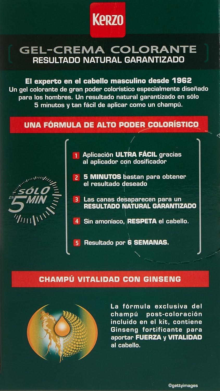 Kerzo tinte para hombre Moreno Nº 20 caja 1 ud