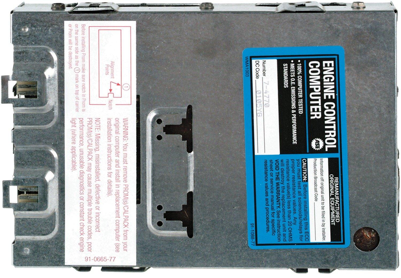 Amazon.com: Cardone 77-4770 Remanufactured General Motors Engine Control  Module (ECM) / Computer: Automotive
