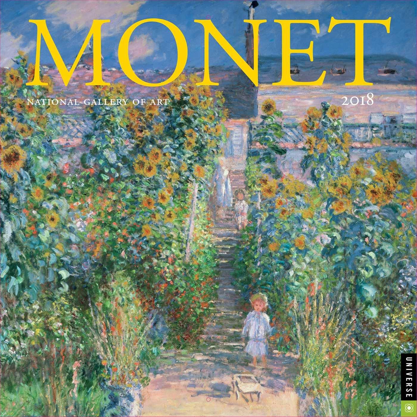 Read Online Monet 2018 Wall Calendar pdf