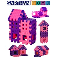 SARTHAM Building Block Toy for Girls, 3+ Years, Multicolour