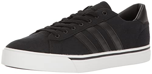 the best attitude c724f fa630 Adidas Mens Cloudfoam Super Daily Shoes, BlackBlackWhite, (6.5 M