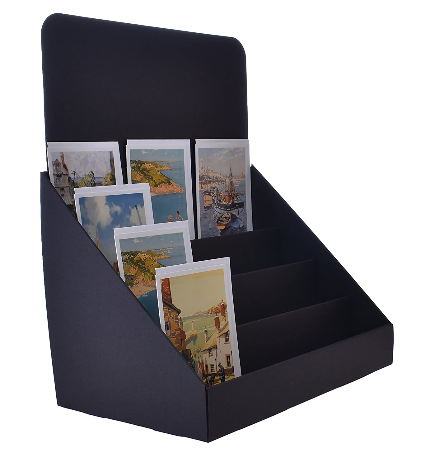 Stand Store 145 Inch 4 Tier Cardboard Greeting Card Display Stand