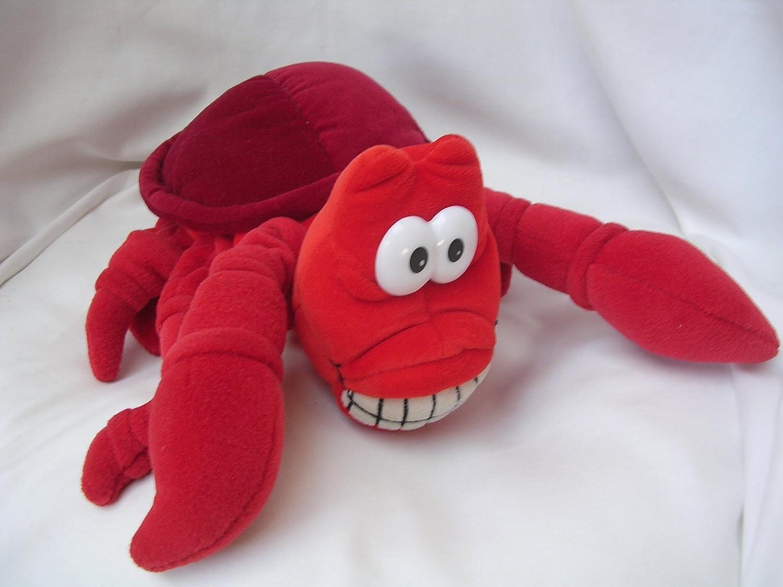 Uncategorized Sebastian The Crab amazon com sebastian crab lobster little mermaid plush toy puppet 10 collectible toys games