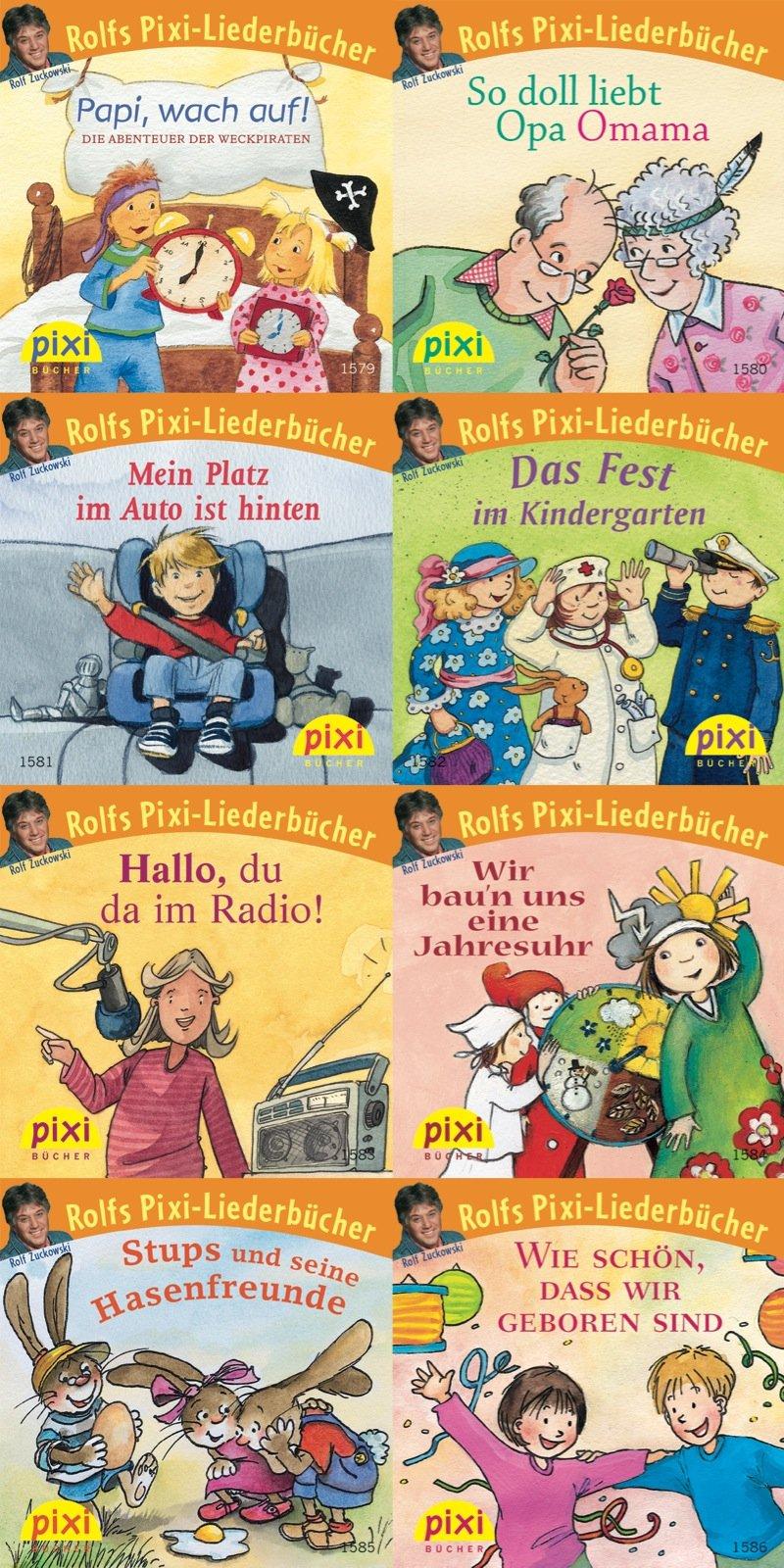 Pixi-Bundle 8er Serie 176: Rolfs Pixi-Liederbücher