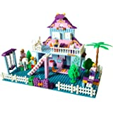My Dream Home Construction Building Bricks - Compatible With Leading Bricks
