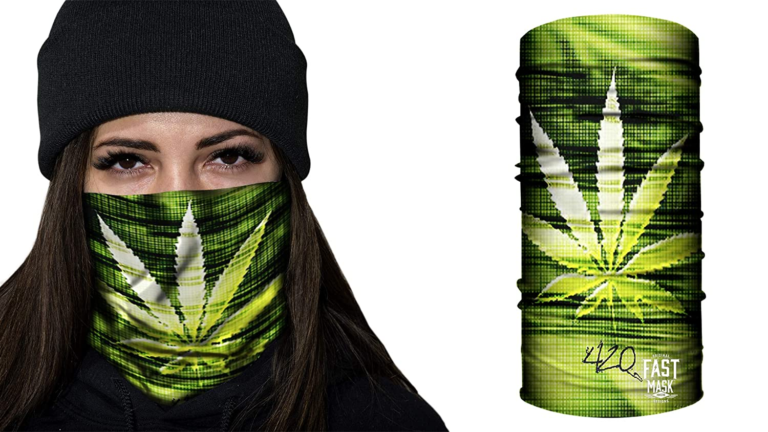 Fast Mask Face Shield Unisex - 420 Delight