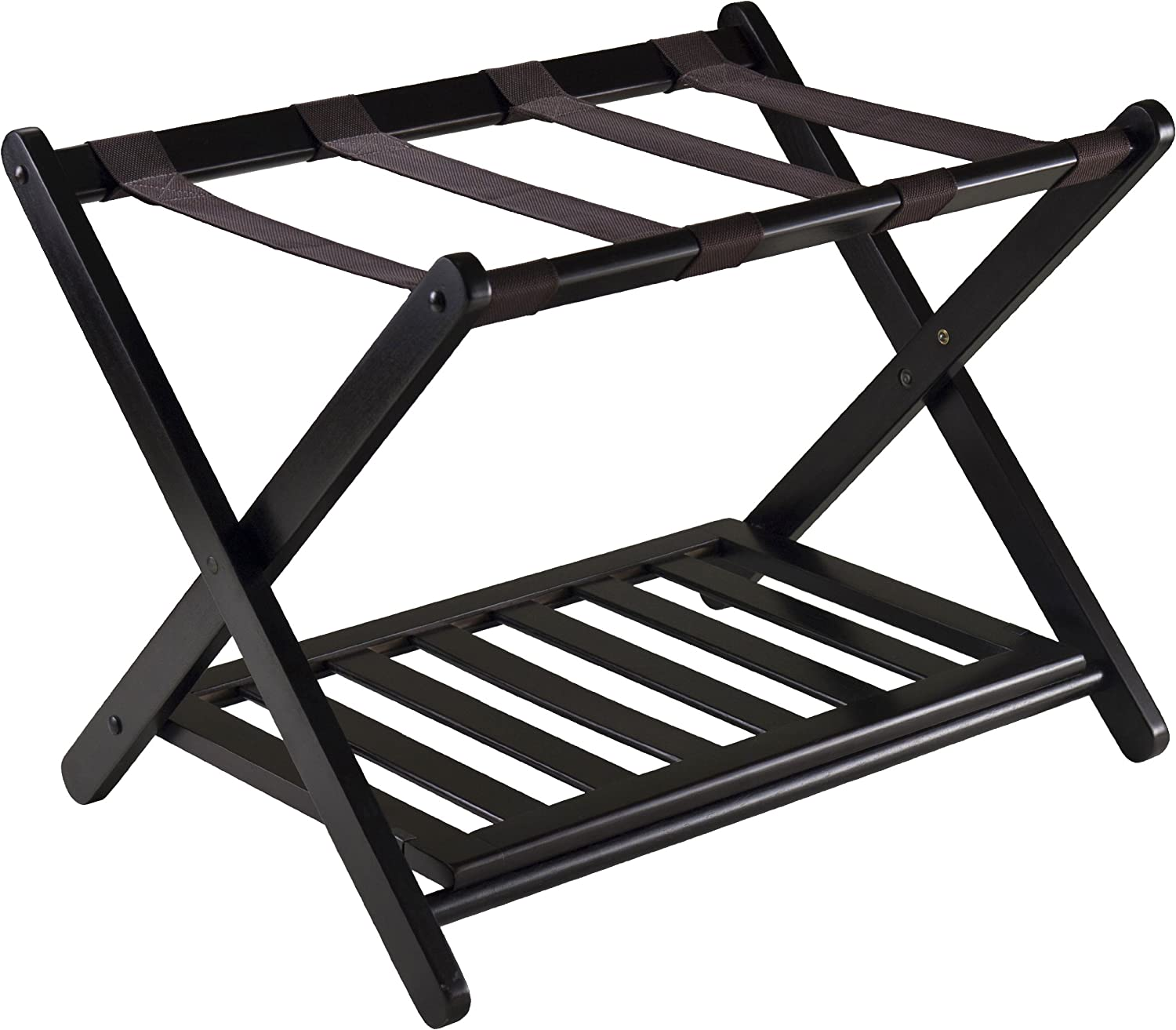 Luggage stand with shoe rack