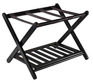 Winsome 92436Luggage Rack with Shelf