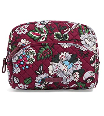 Amazon.com  Vera Bradley Iconic Large Cosmetic Case Bag 29ccde258e6d1
