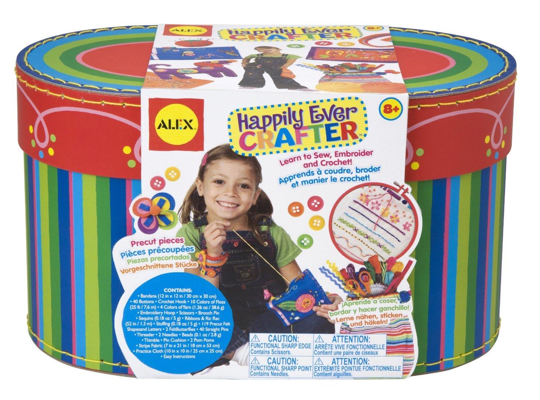 Alex Toys Craft - 80w - Tricoter Et Décorer A Volonté ! Kits de loisirs créatifs