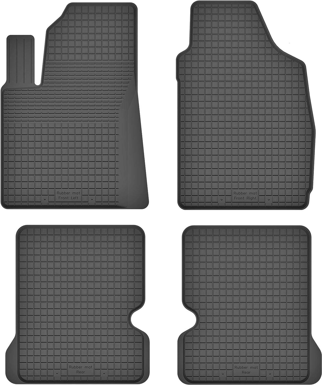 ideal angepasst 4 KO-RUBBERMAT Gummimatten Fu/ßmatten 1.5 cm Rand geeignet zur FIAT Panda II Bj. 2003-2012 Teile EIN Set