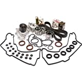 Evergreen TBK271VCT Toyota 4Runner 3.4L DOHC Timing Belt Kit Valve Cover Gasket Water Pump