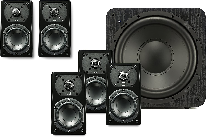 SVS Prime Satellite 5.1 Speaker System – Premium Black Ash