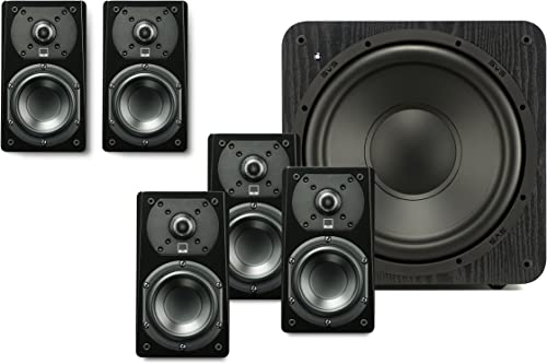 SVS Prime Satellite 5.1 Speaker System Premium Black Ash