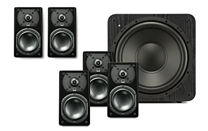 SVS Prime Satellite 51 Speaker System Premium Black Ash