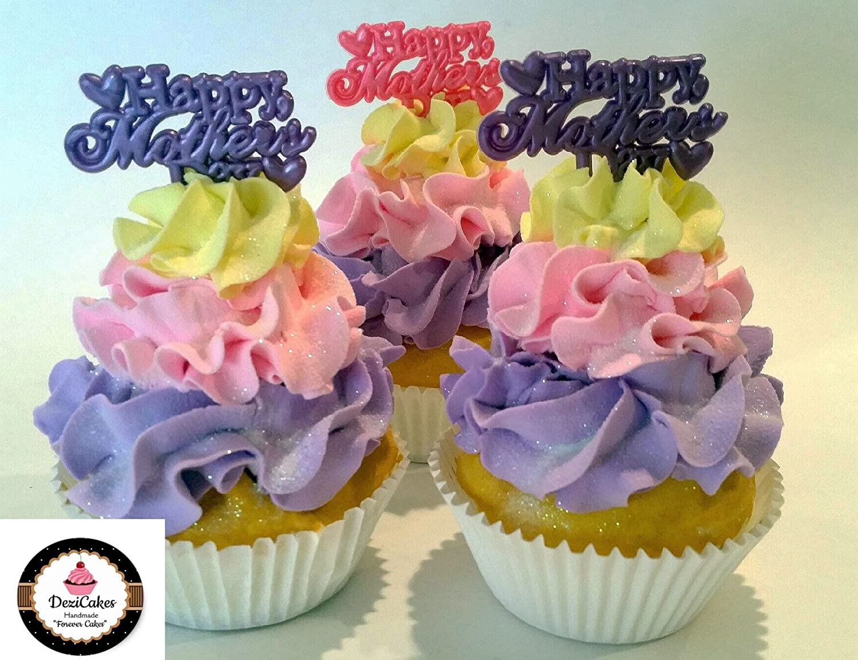 Dezicakes フェイクカップケーキ 母の日 3個セット フェイクケーキ B07D44LRX9
