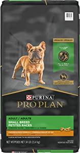 Purina Pro Plan With Probiotics, Small Breed Dry Dog Food, Shredded Blend Chicken & Rice Formula - 34 lb. Bag (Formerly known as SAVOR – Packaging may vary during transition)