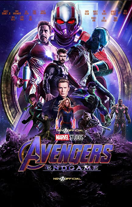 Zemfo Avengers 4 Endgame Poster Paper 12x18 Inches Amazon In