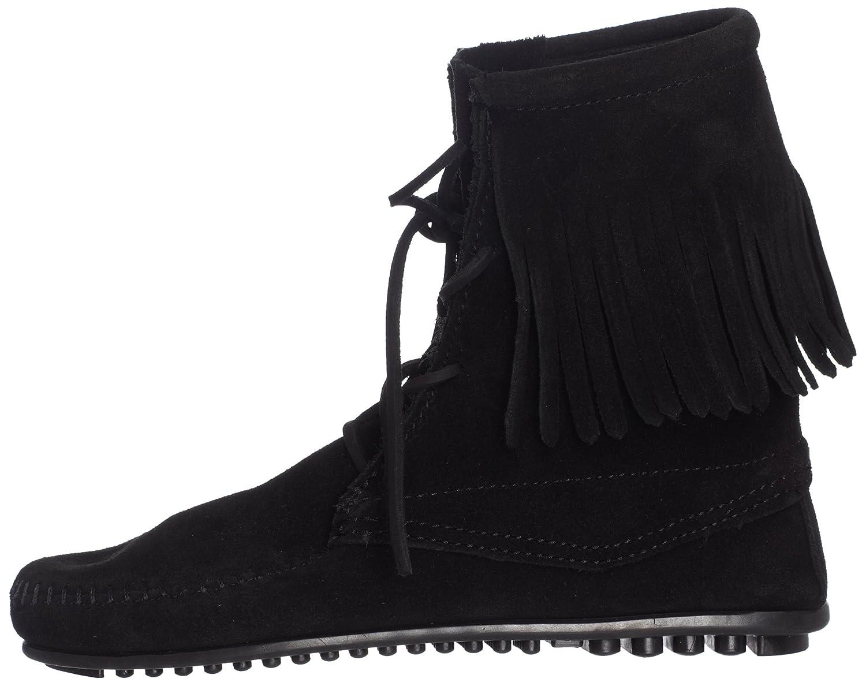 Minnetonka Women's Tramper Ankle Hi Boot B000EXAC2O 9 B(M) US|Black