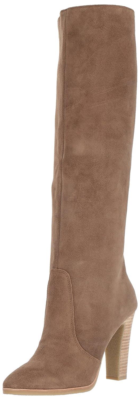 Dolce Vita Women's Celine Knee High Boot B071JN5RTN 8.5 B(M) US|Khaki Suede