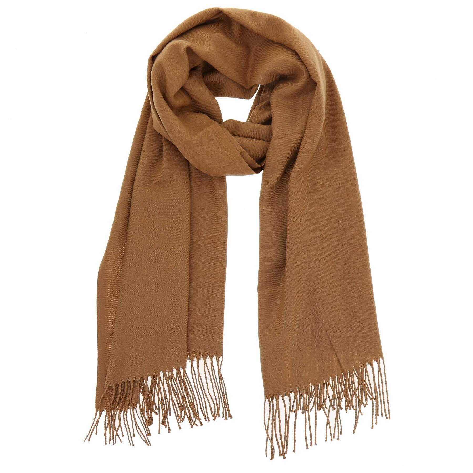 38165da68d6 FASHIONGEN - Echarpe pashmina homme et femme douce en laine