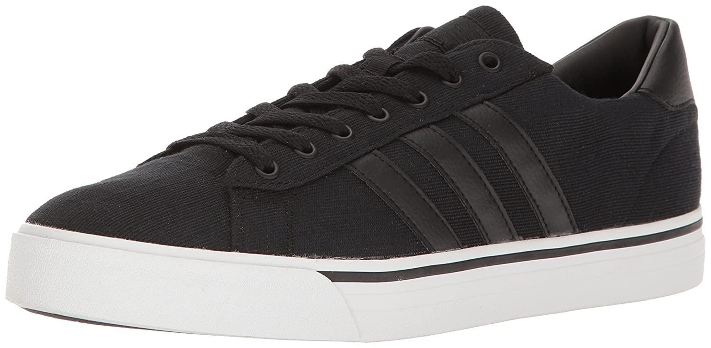 adidas Men's CF Super Daily Sneaker 14 D(M) US Black/Black/White
