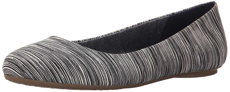 Dr. Scholl's Women's Really Harmony Flat B0174ACXQW 6.5 B(M) US Black Harmony Really Stripe 32b05e