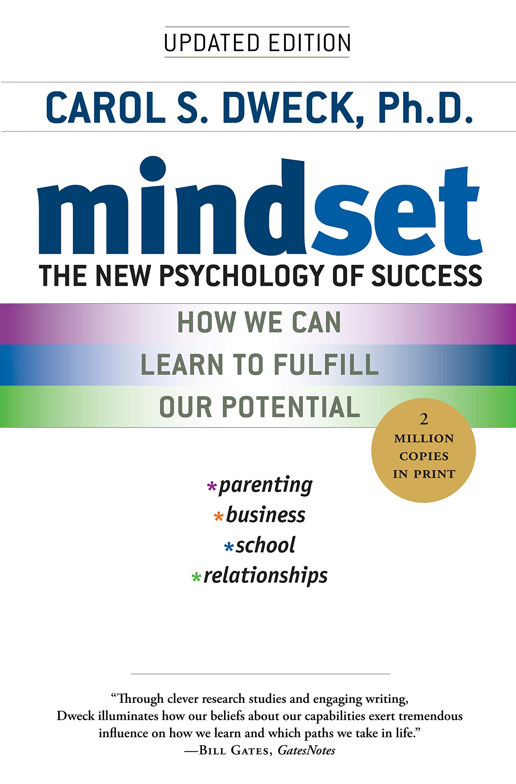 Mindset The New Psychology Of Success Carol S Dweck