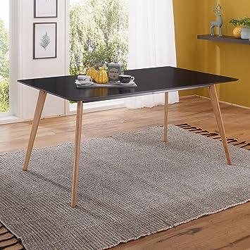 FineBuy Esszimmertisch 160 X 76 X 90 Cm Aus MDF Holz | Esstisch Mit  Tischplatte In