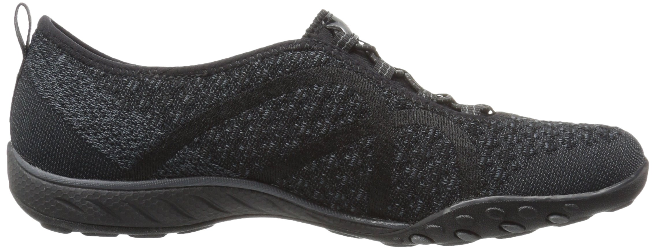 Skechers Sport Women's Breathe Easy Fortune Fashion Sneaker,Black Knit,5.5 M US by Skechers (Image #7)