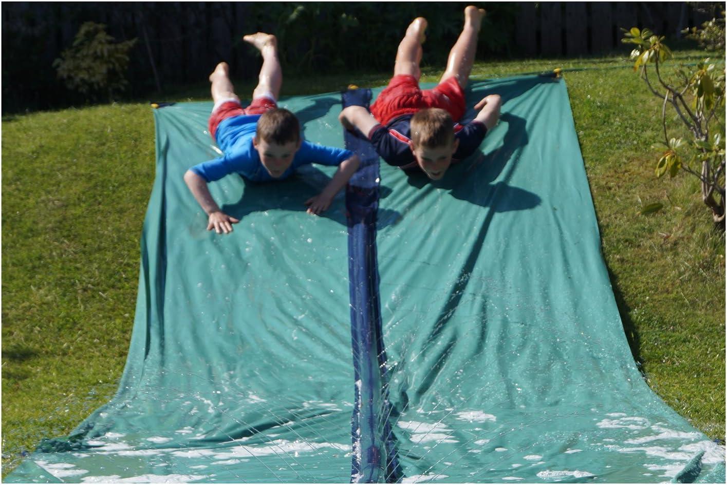 Water Slide for Garden Play 31 Foot Slip and Slide for Races