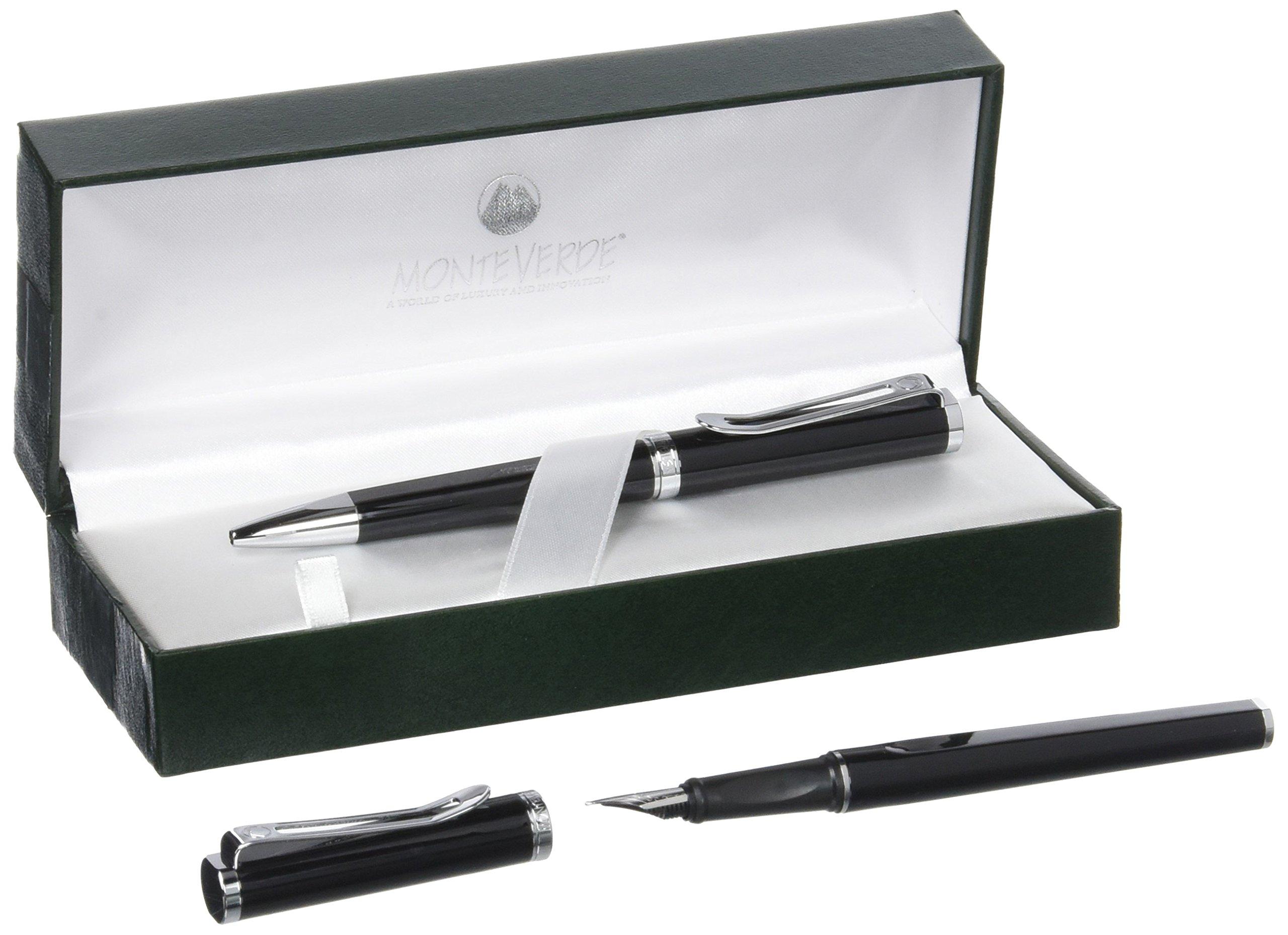 Monteverde Limonada Pen - Milano Black (Pack of 2) by Monteverde (Image #1)