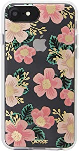 Sonix Southern Floral Cell Phone Case Women's Protective Pink Flowers Clear Case for Apple iPhone 6, iPhone 6s, iPhone 7, iPhone 8, iPhone SE