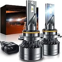$27 » 9005/HB3 LED Headlight Bulbs, Mirozo 12000 Lumens Super Bright light Conversion Kit…